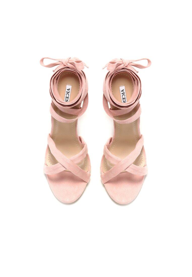 Różowe Sandały Raspberry