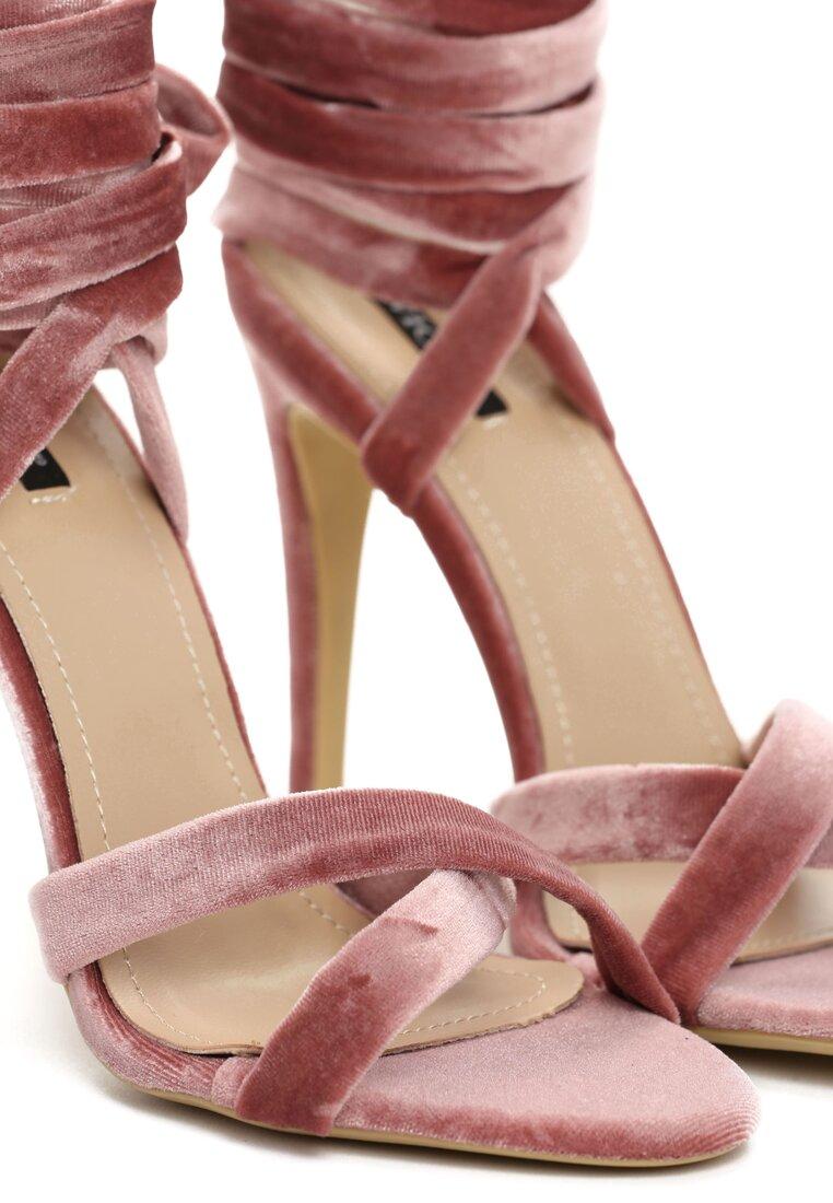 Różowe Sandały Choosy