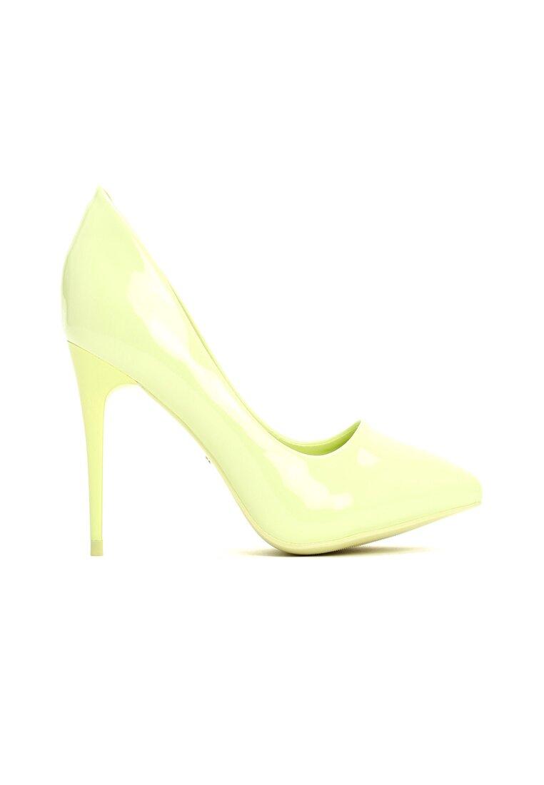 Limonkowe Szpilki Lime Pumps