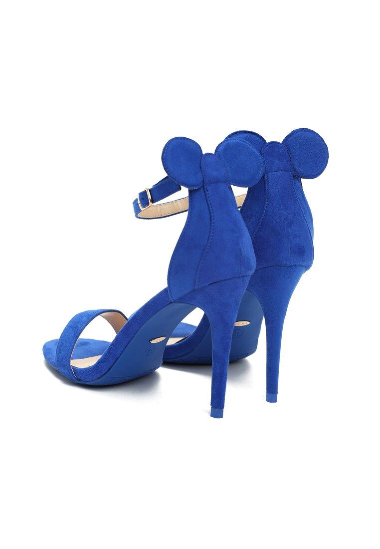Niebieskie Sandały Crazy Mouse