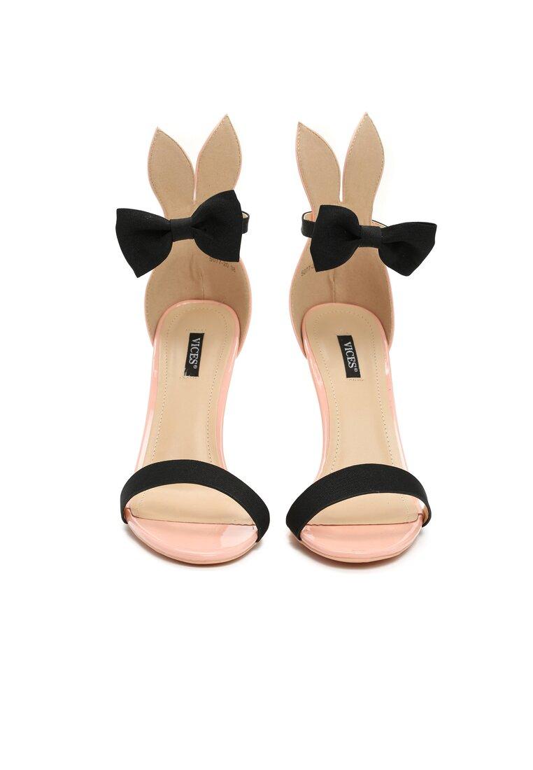 Różowe Sandały Rabbit