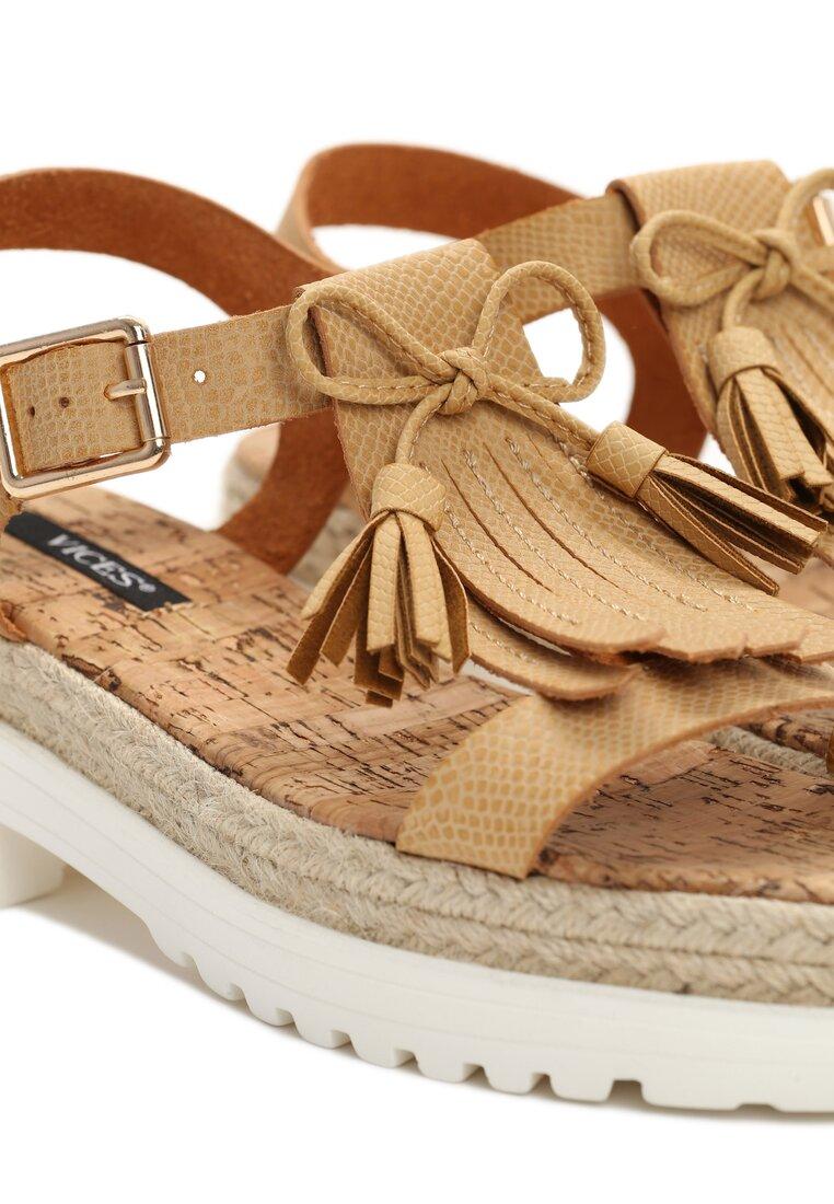 Beżowe Sandały Safe And Sound