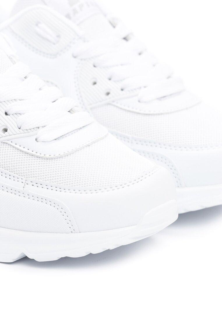 Białe Buty Sportowe Blueberry