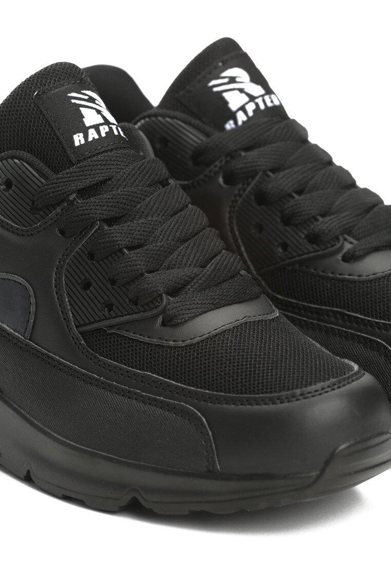 Czarne Buty Sportowe Classical Nilda