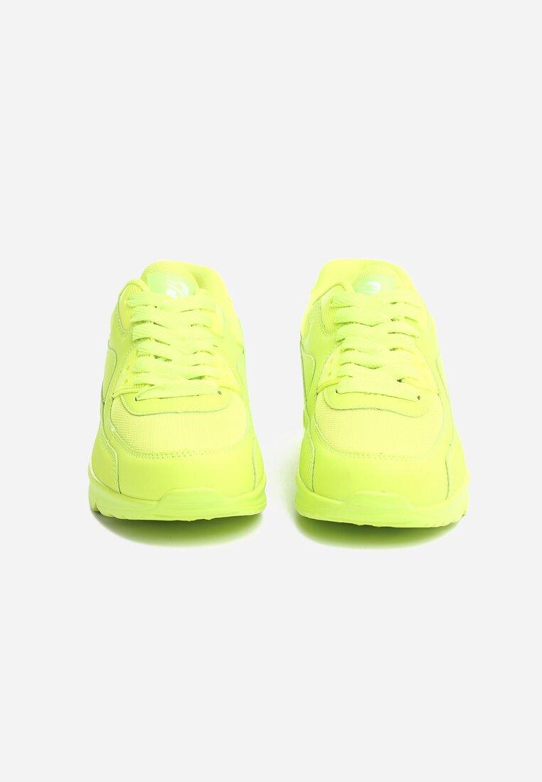 Limonkowe Buty Sportowe Blueberry