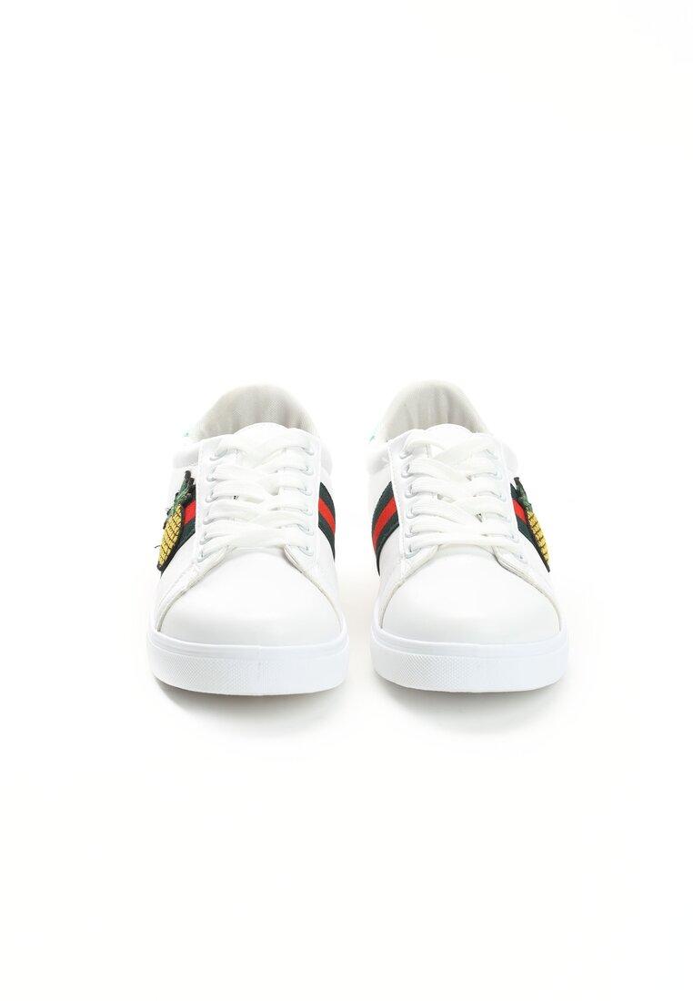 Białe Buty Sportowe Pineapple Juice