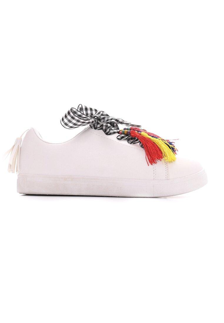 Białe Buty Sportowe Sweet Imagination