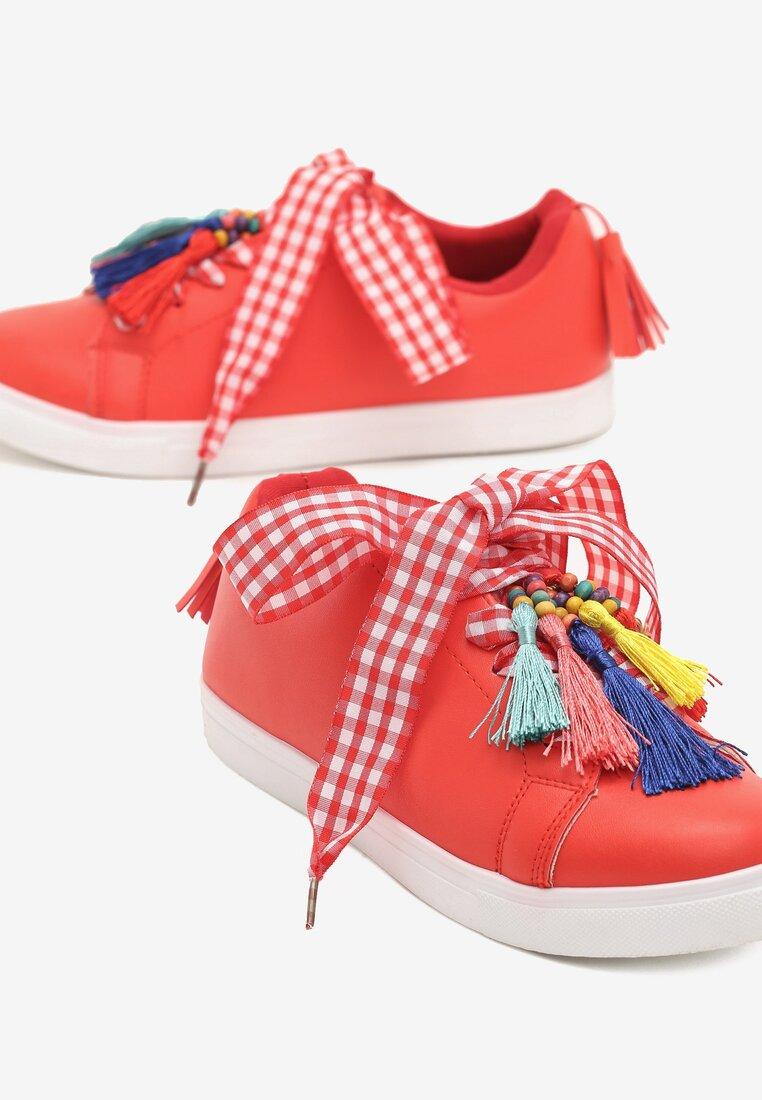 Czerwone Buty Sportowe Sweet Imagination