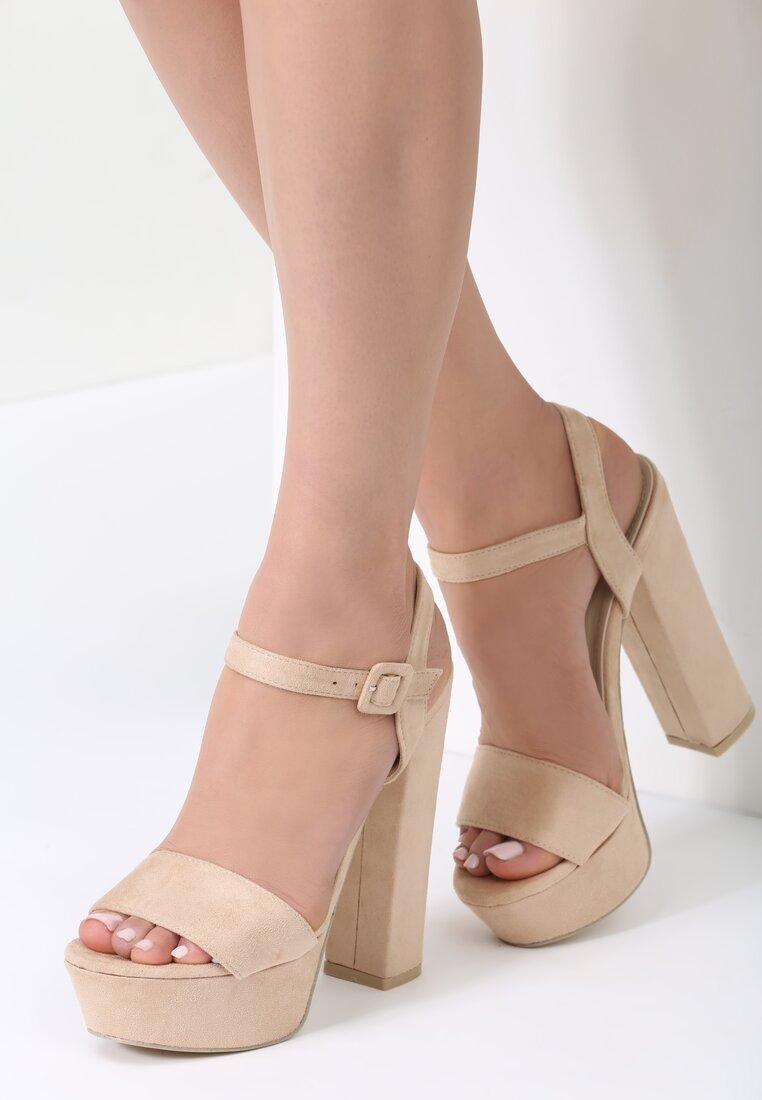 Beżowe Sandały Like You Do