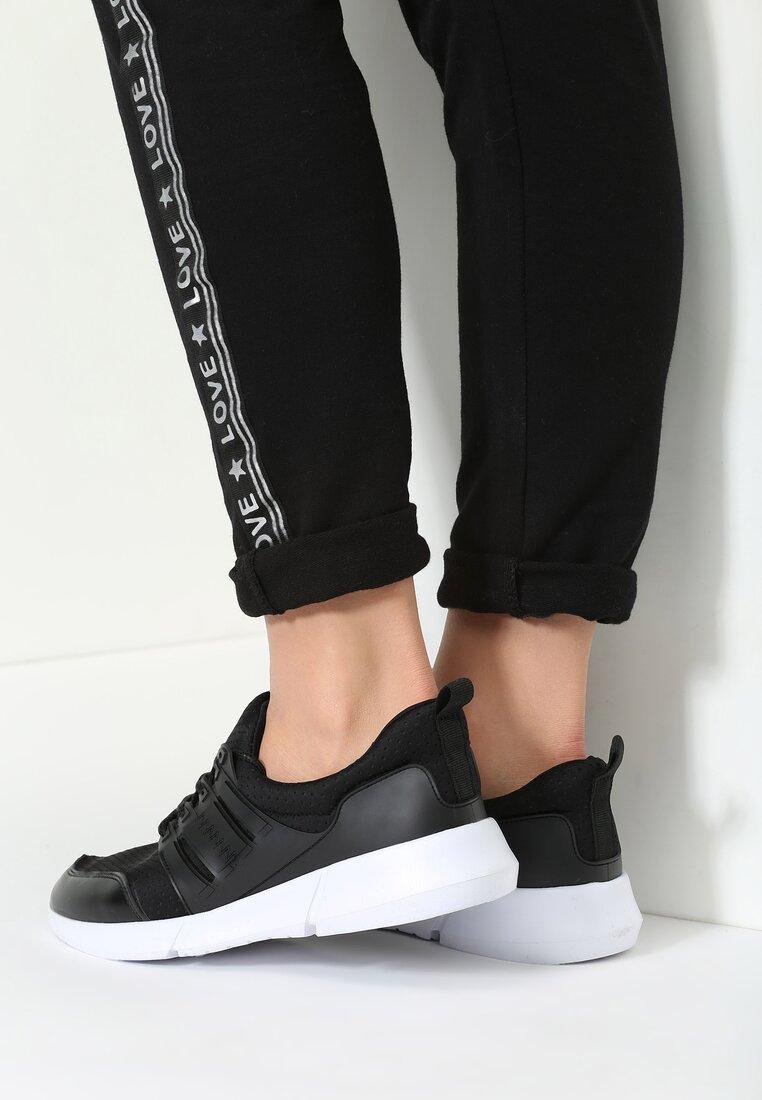 Czarne Buty Sportowe Deby