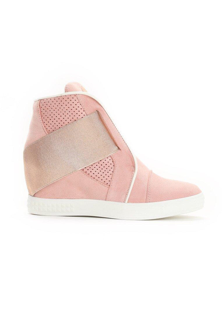 Różowe Sneakersy Hidden Depths