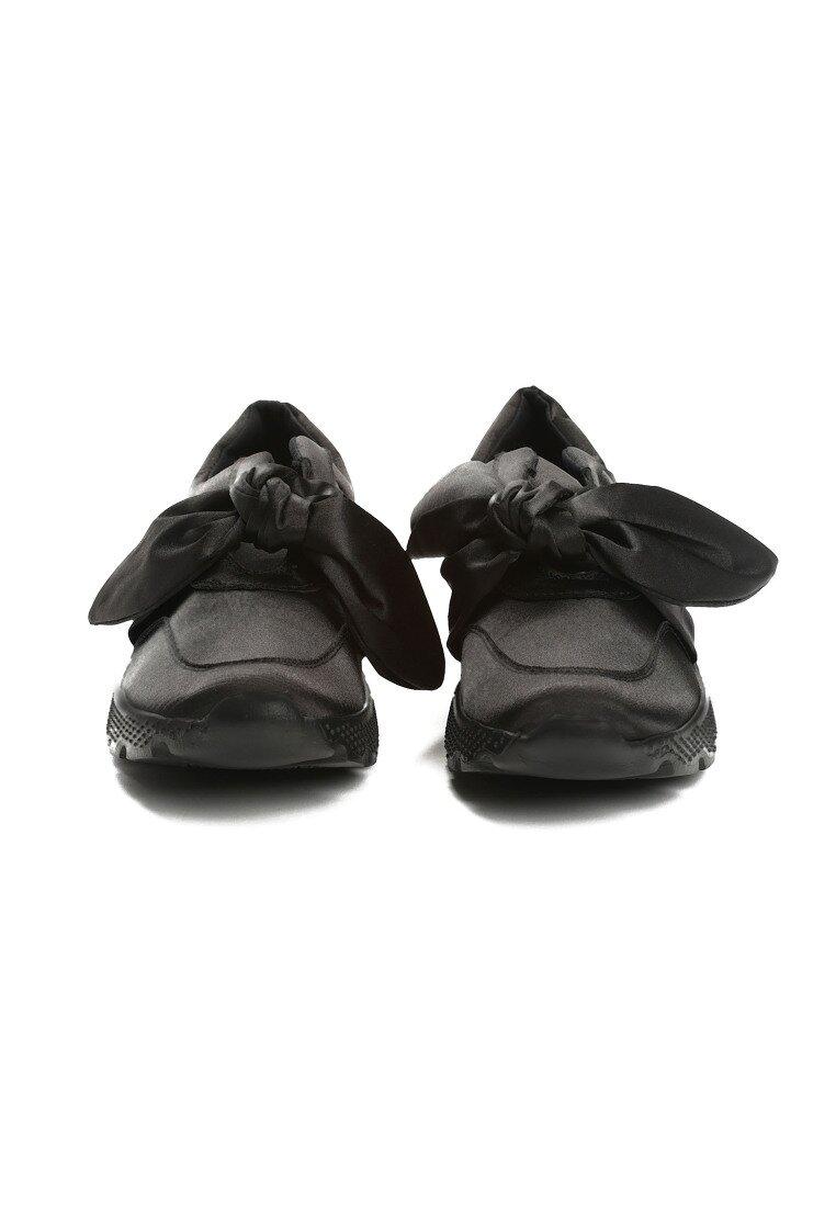 Czarne Buty Sportowe Suprising Winky