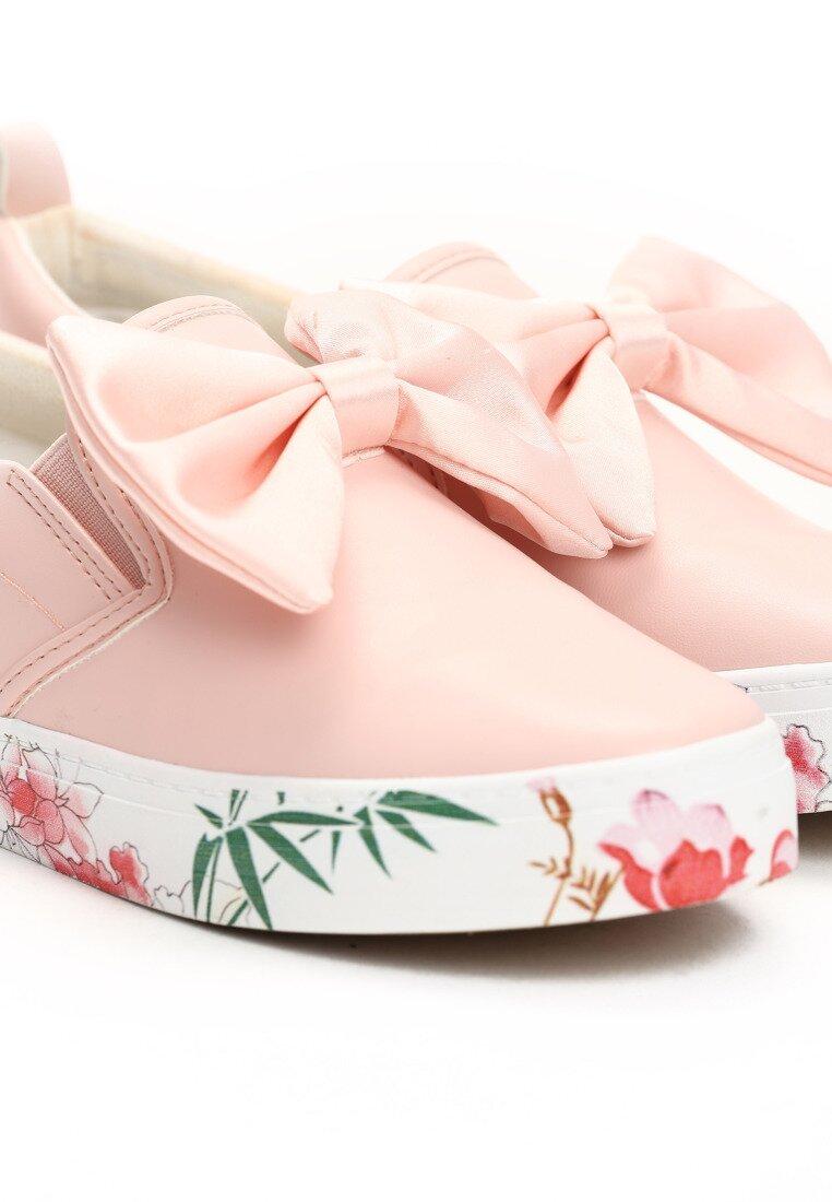Różowe Slip On Something Cute