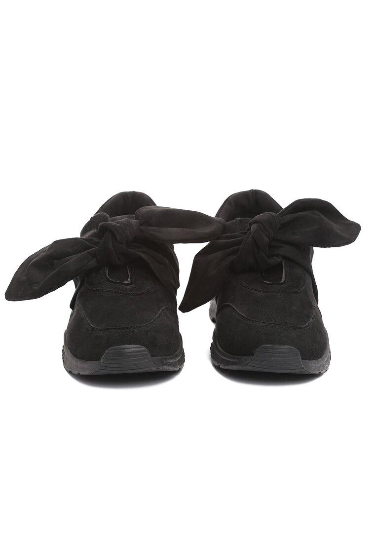 Czarne Buty Sportowe Umbrella