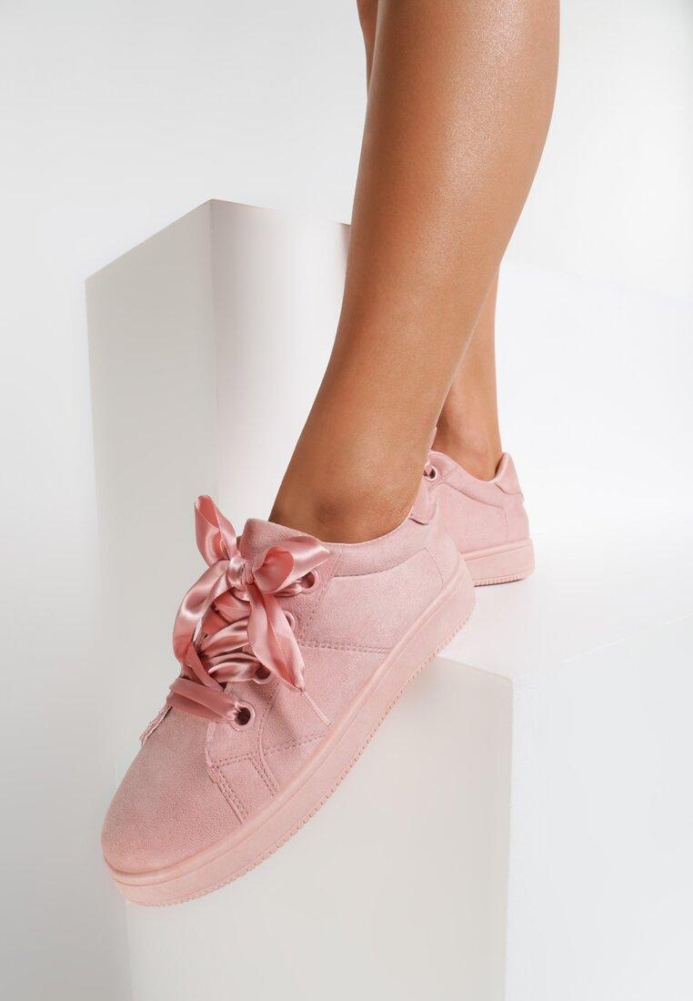 Różowe Buty Sportowe Fair Back