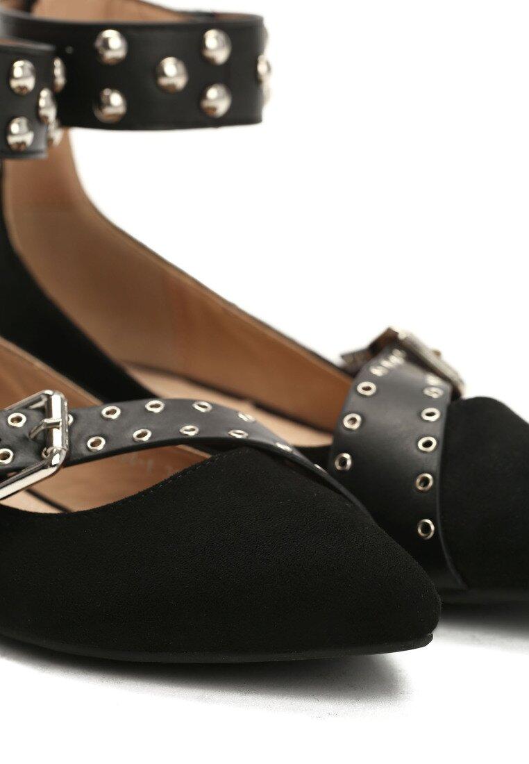 Czarne Balerinki Elegant Pleasure