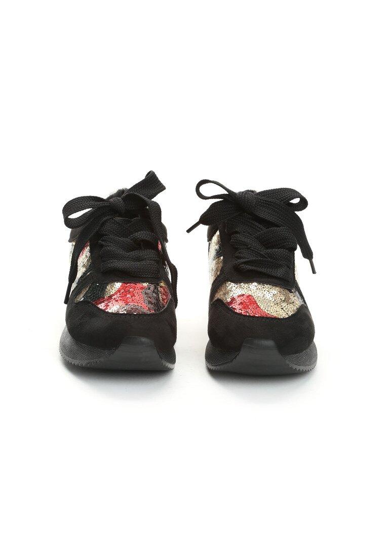 Czarne Buty Sportowe Miniature