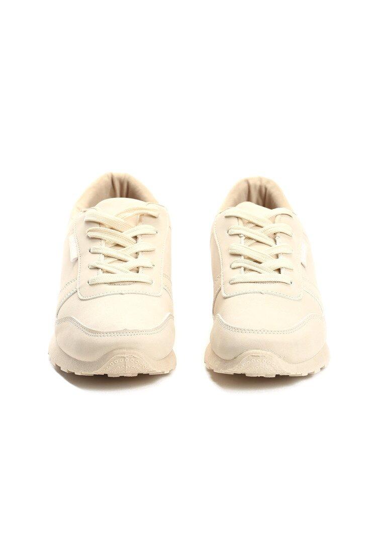 Beżowe Buty Sportowe Rising Day