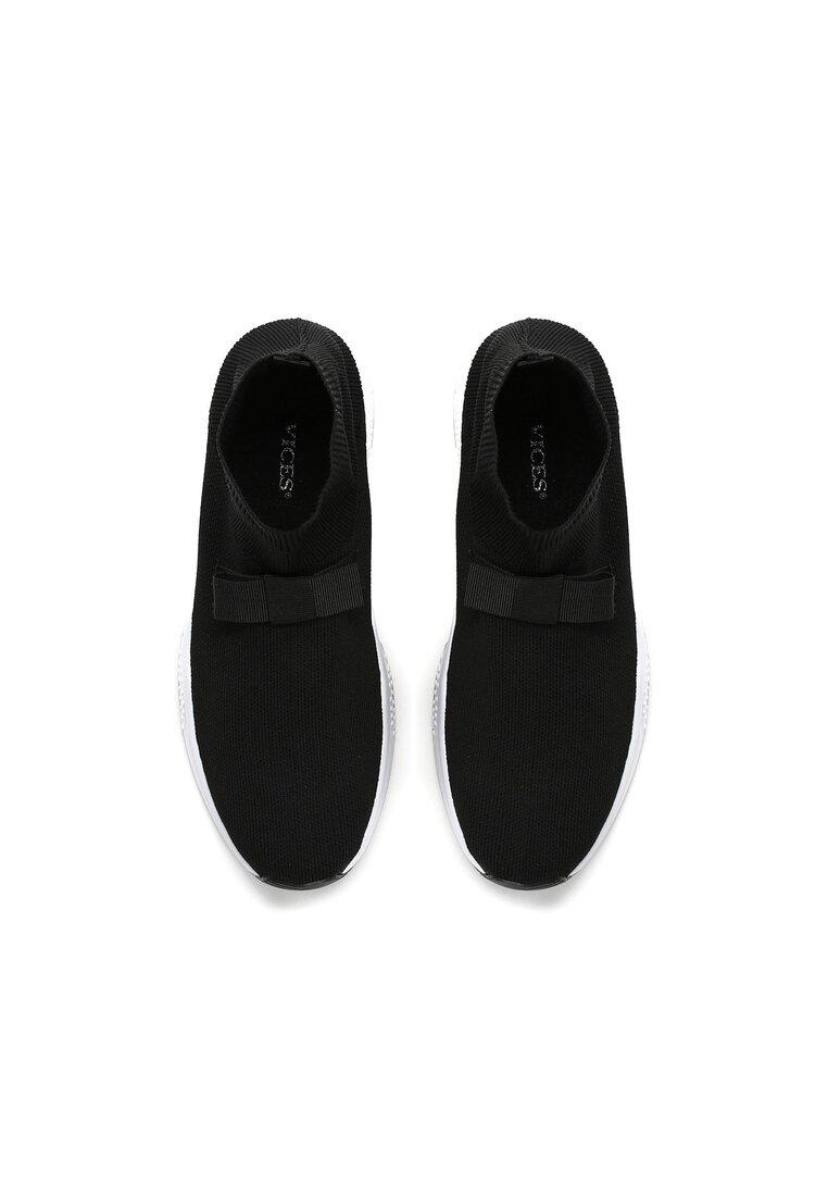 Czarne Buty Sportowe Bobby Socks