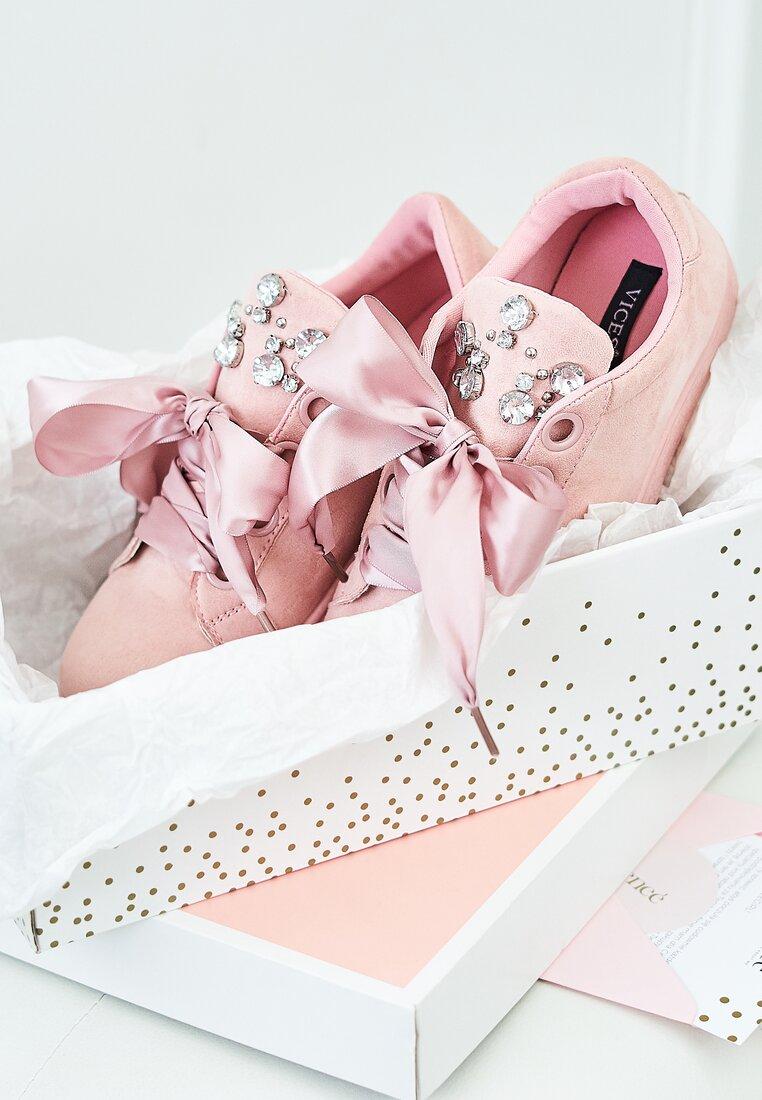 Różowe Buty Sportowe Lovers Embrace