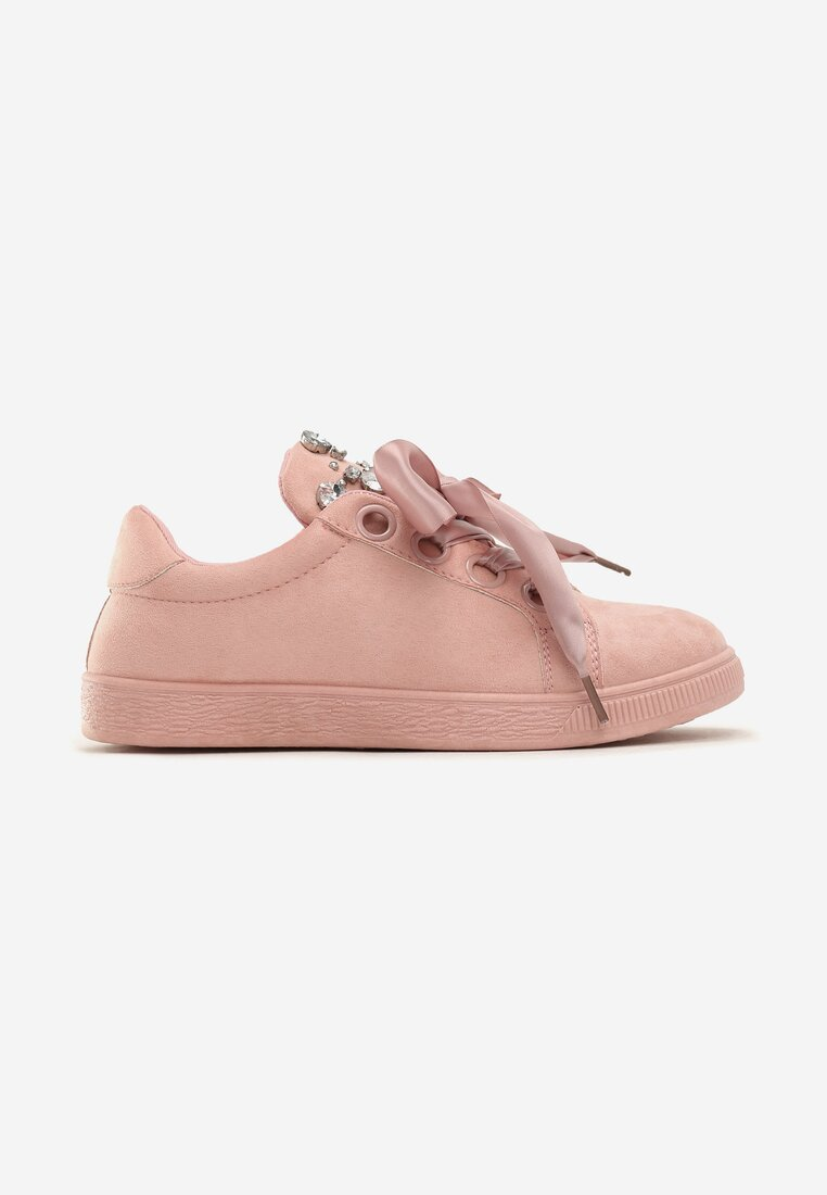 Różowe Buty Sportowe Delicate Embrace