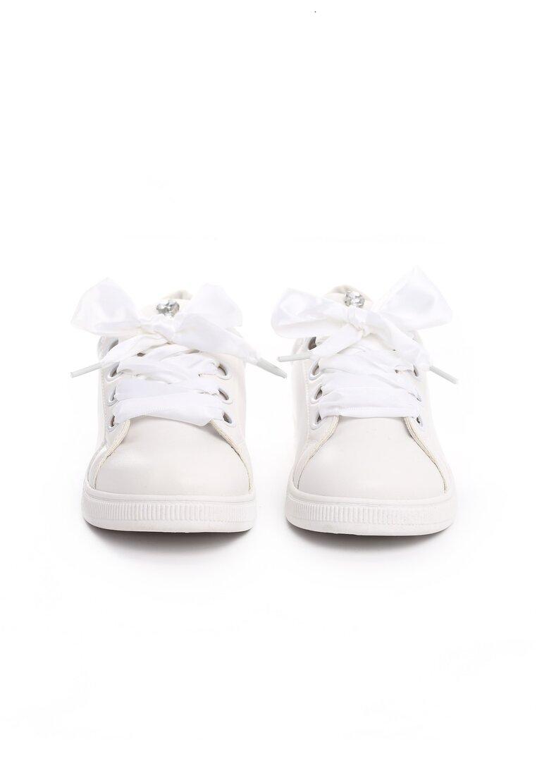Białe Buty Sportowe Delicate Embrace