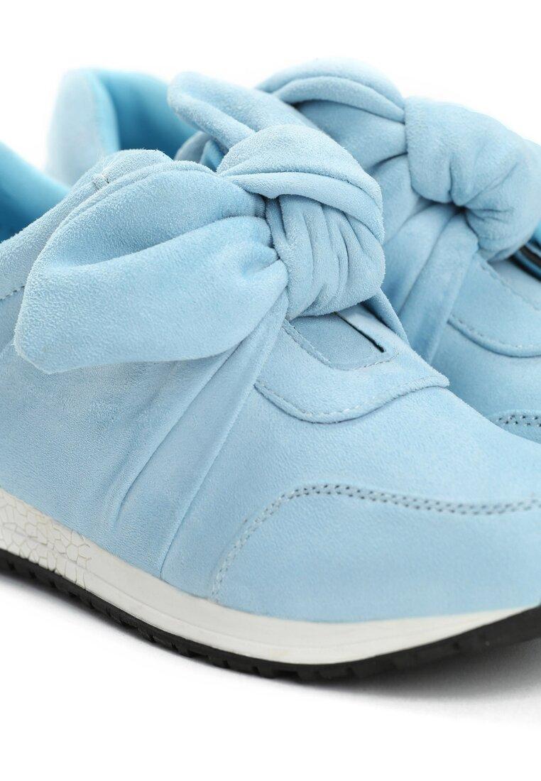 Błękitne Buty Sportowe Instruction