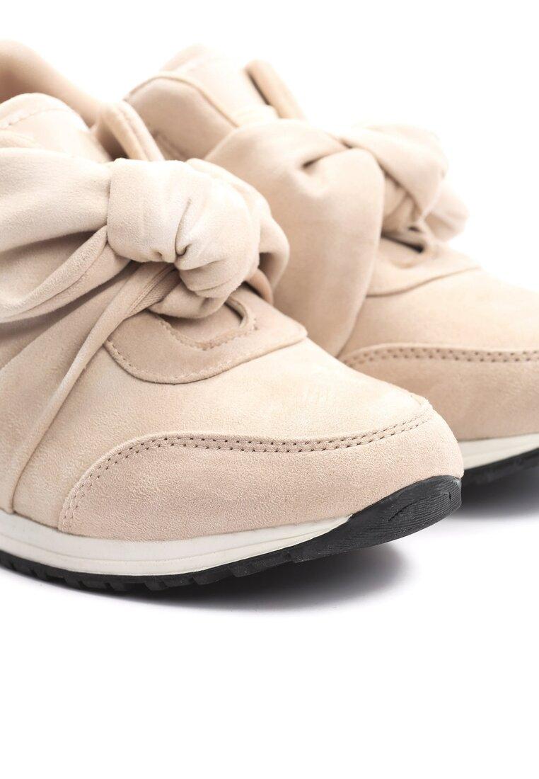 Beżowe Buty Sportowe Instruction