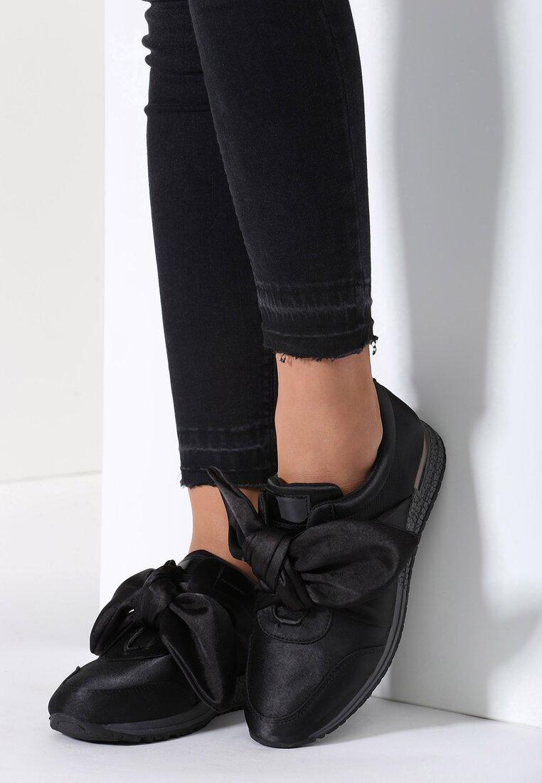 Czarne Buty Sportowe Runaway