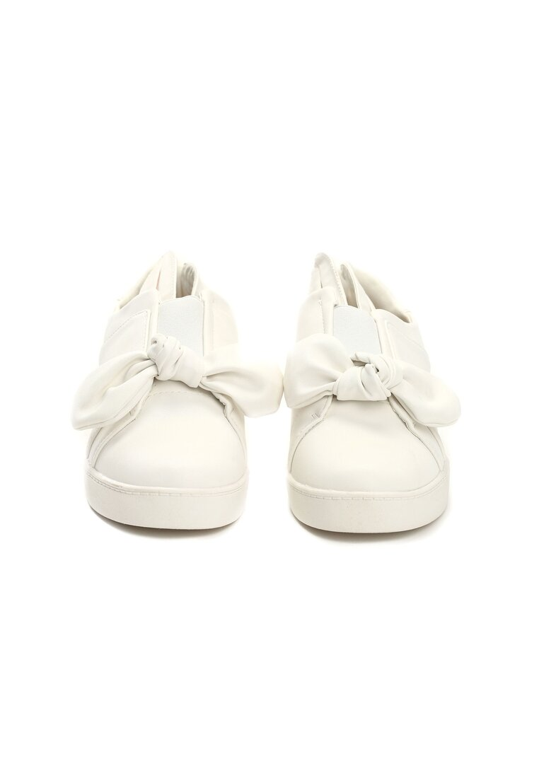 Białe Slip On Catchy