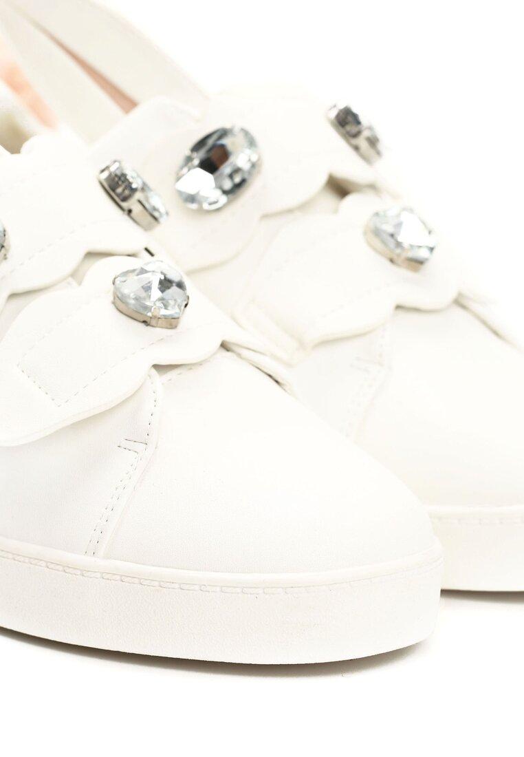 Białe Buty Sportowe Flopsy Bunnies