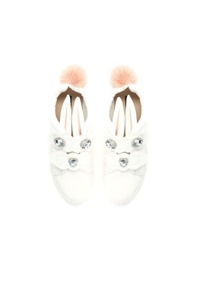 Białe Buty Sportowe Glorious Bunnies