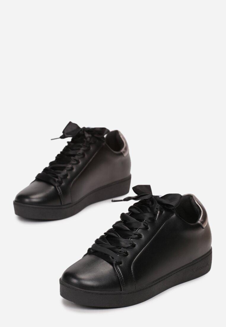 Czarne Buty Sportowe Plaything