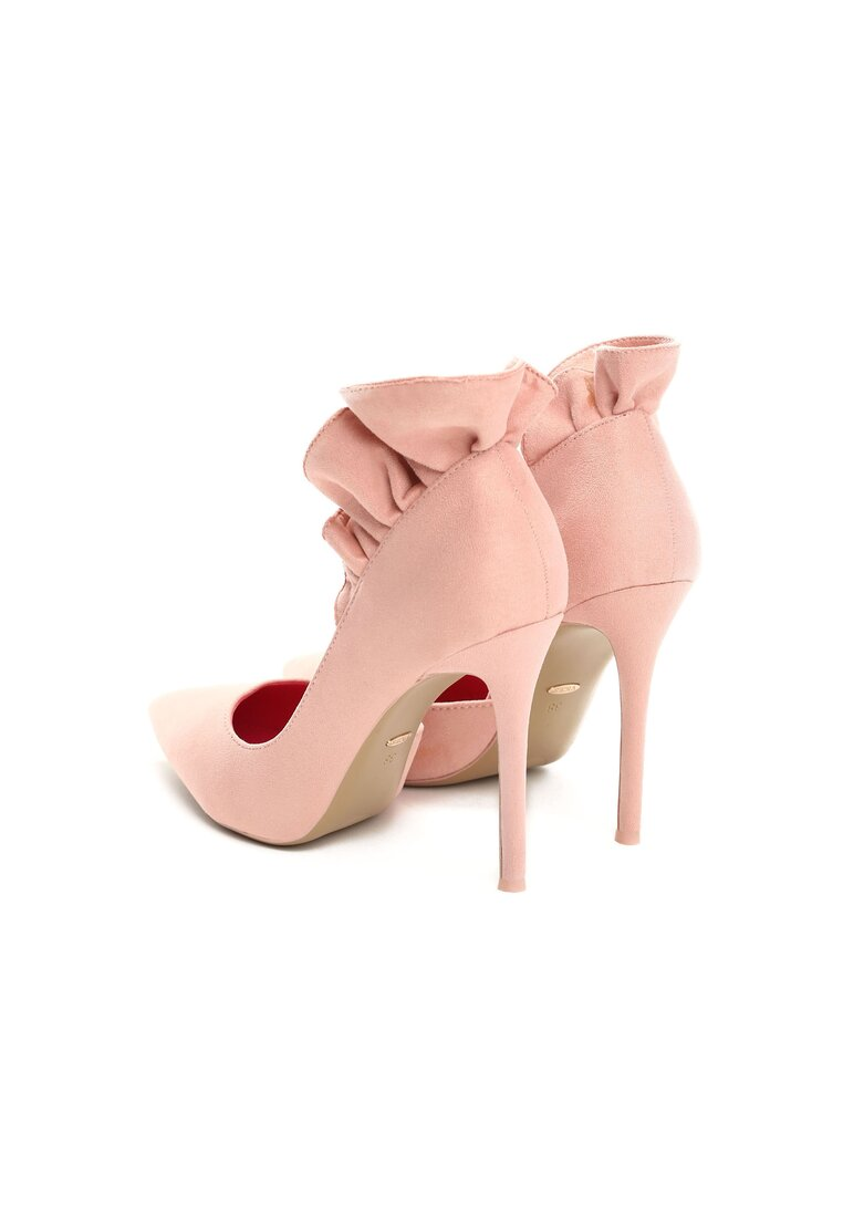 Różowe Szpilki Furbelow