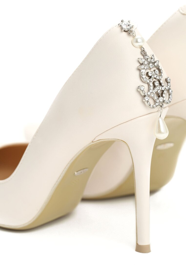Beżowe Szpilki Bride