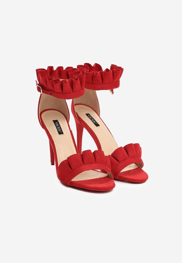 Czerwone Sandały Grace Of Heaven