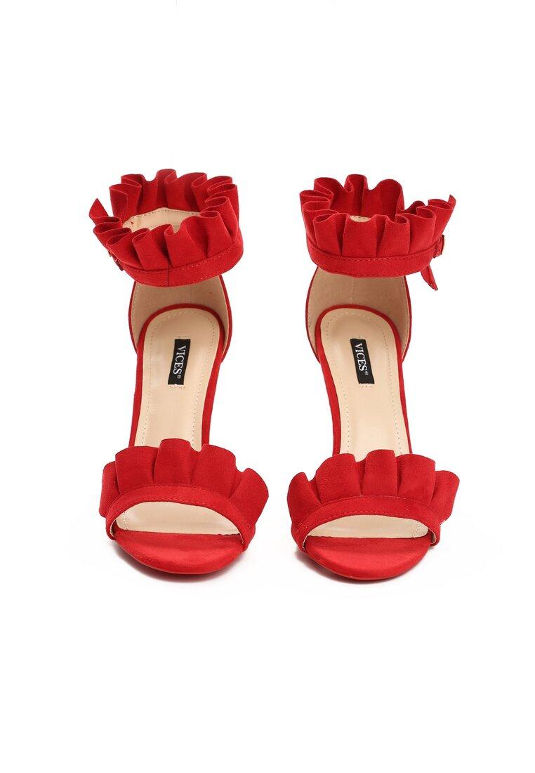 Czerwone Sandały Amazing
