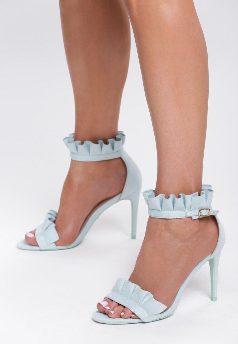 Niebieskie Sandały Amazing