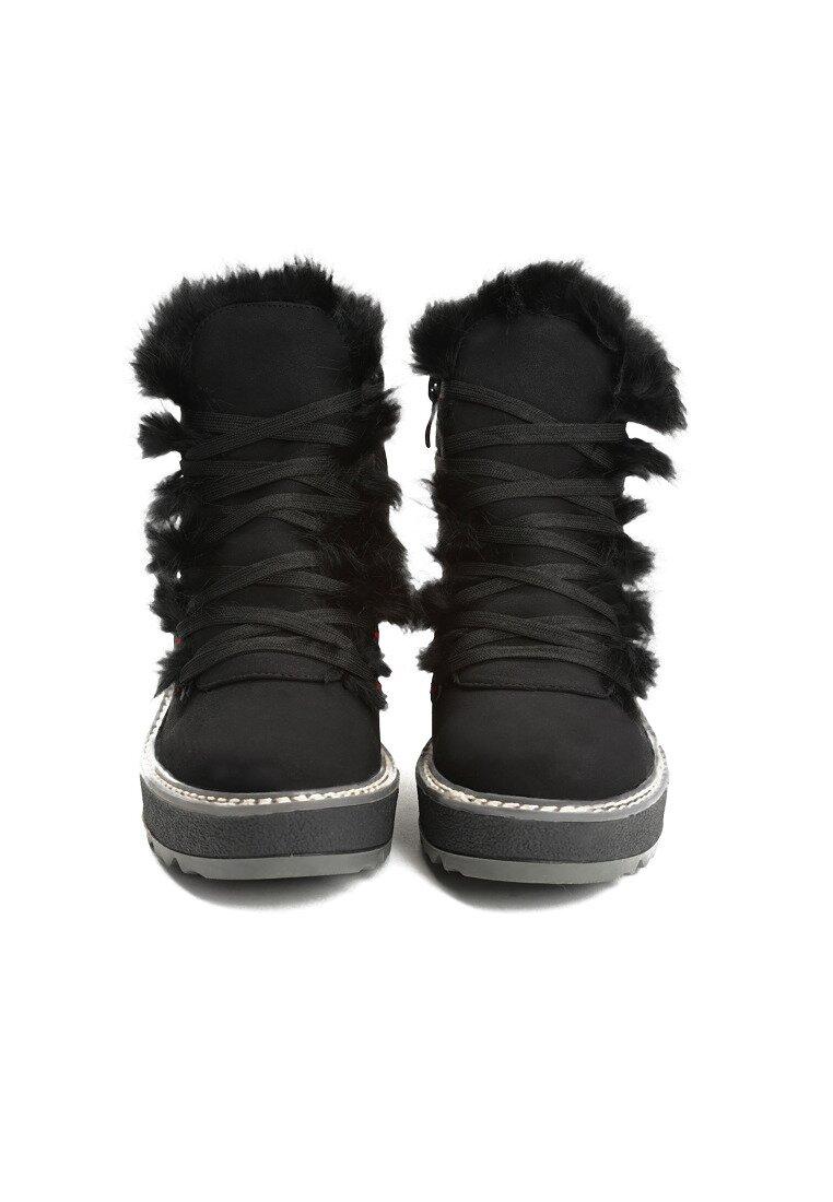 Czarne Śniegowce Everything is Perfect