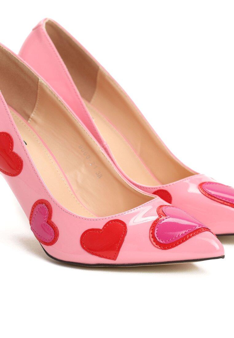 Różowe Szpilki Heartily
