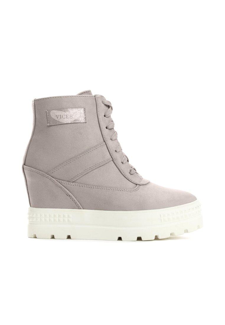Ciemnoszare Sneakersy More You