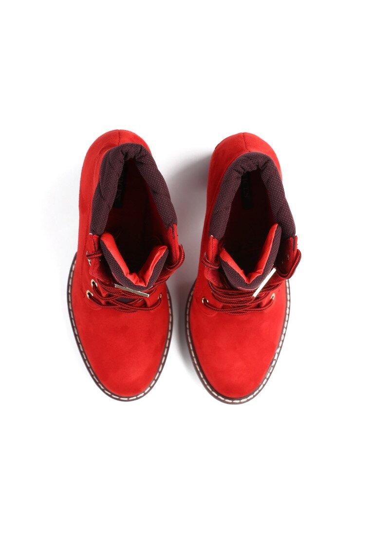 Czerwone Botki Blooper
