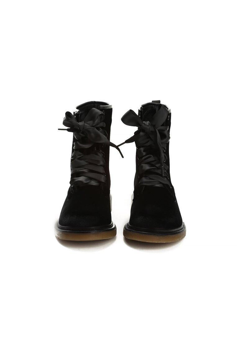 Czarne Botki Chill Walk