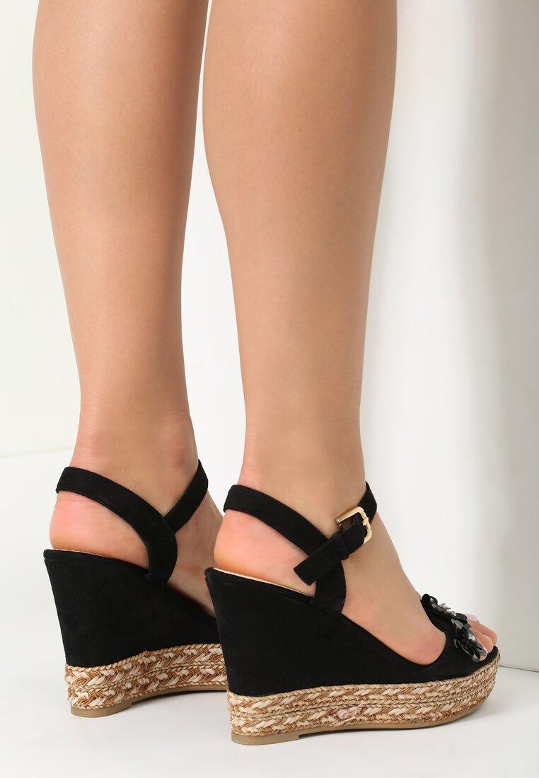 Czarne Sandały Wookash