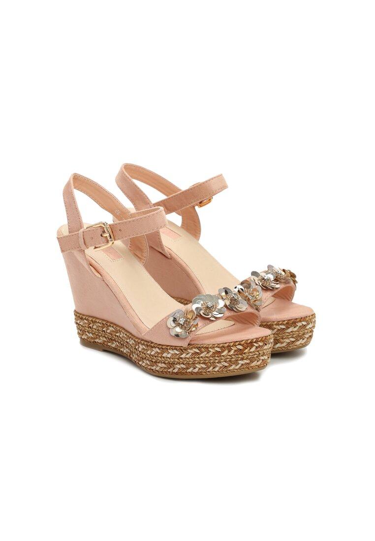 Różowe Sandały Wookie