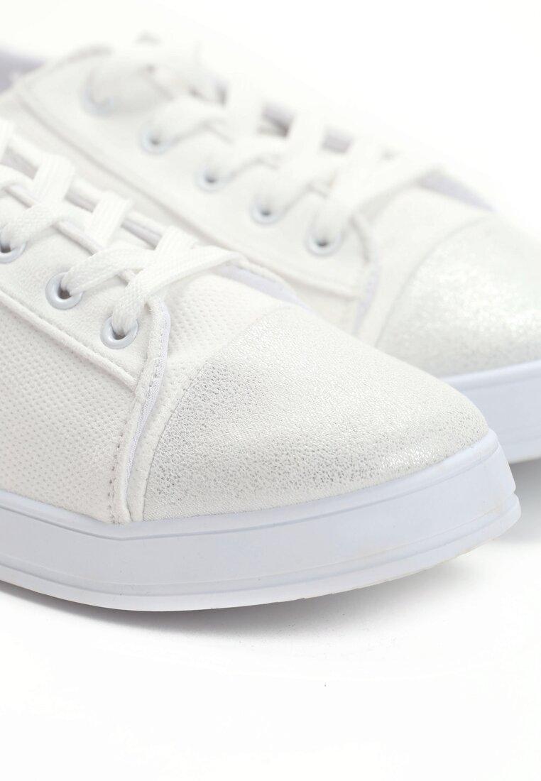 Białe Trampki Pumpless