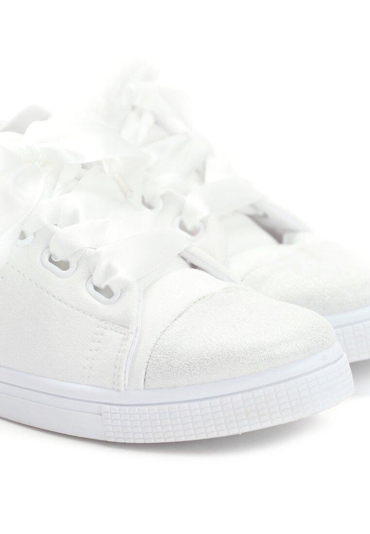 Białe Trampki Pumplike