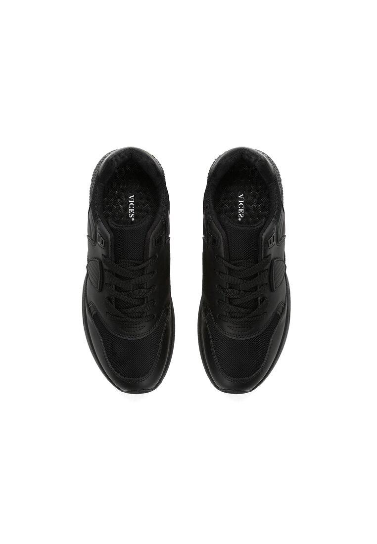 Czarne Buty Sportowe Beauteous Gymnast