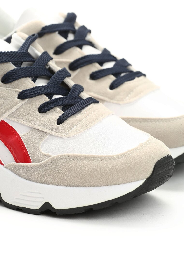 Beżowe Buty Sportowe Firmament