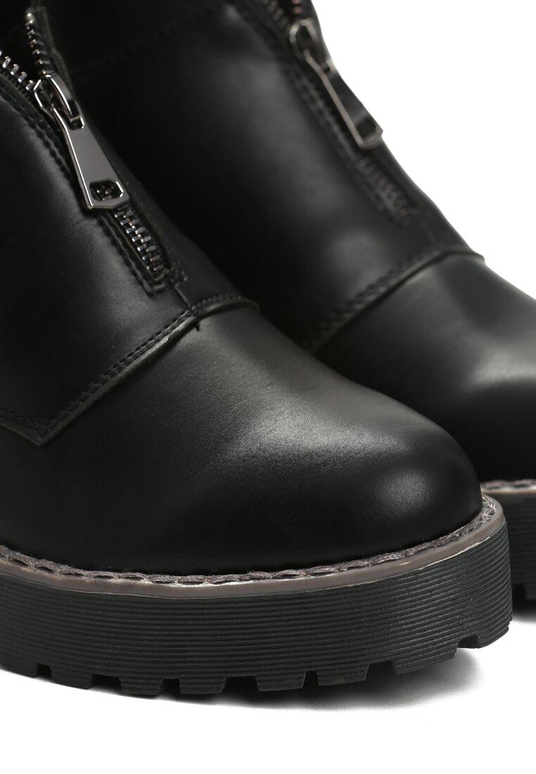 Czarne Botki Dancing Barefoot
